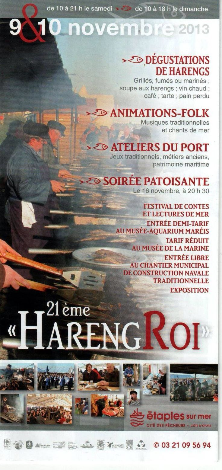 Fête du Hareng - 9 & 10 novembre 2013 - Etaples sur Mer sur la Côte d'Opale