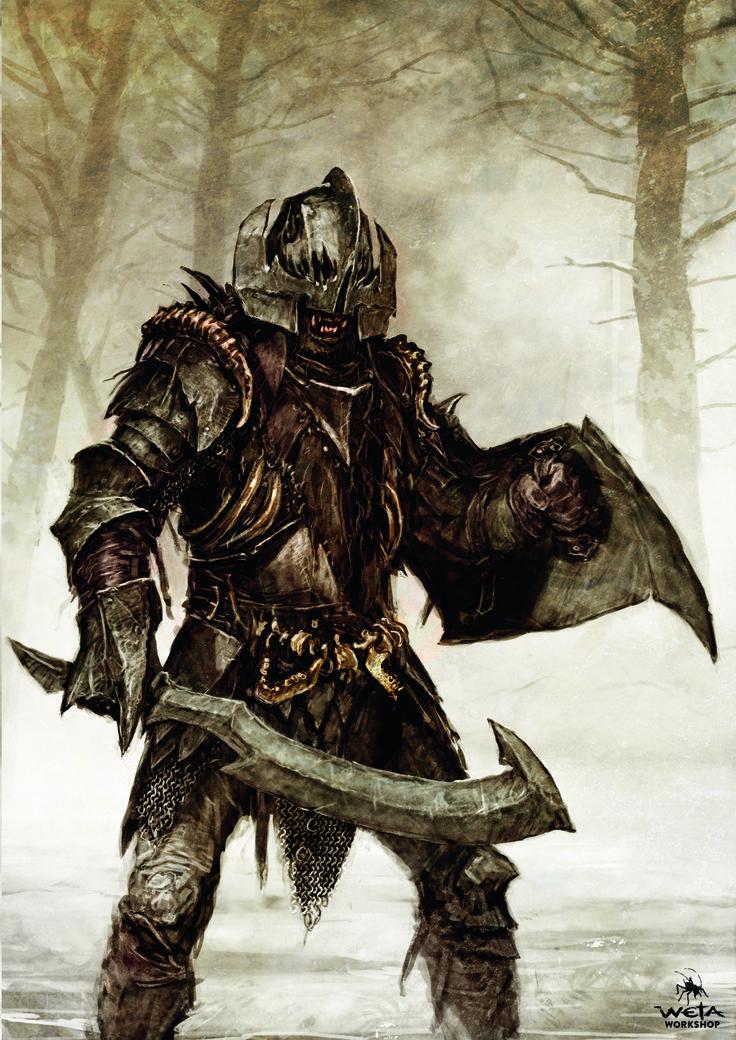 The Hobbit - The Battle of Five Armies Orcs, WETA WORKSHOP DESIGN STUDIO on ArtStation at https://www.artstation.com/artwork/n1oRK