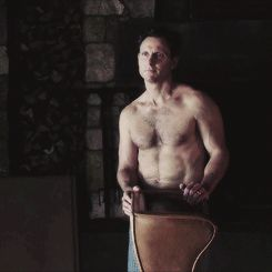 He looks like this without the green cable knit sweater. | Community Post: 16 Reasons We Love Fitzgerald Grant III