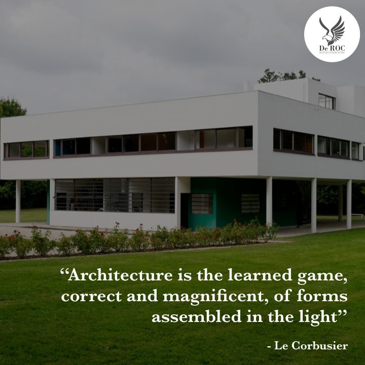 """Architecture is the learned game, correct and magnificent, of forms assembled in the light"" - Le Corbusier #quotes #architecture #design"