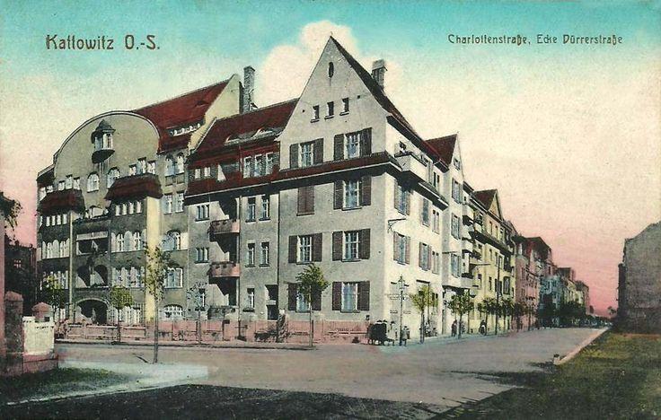 Ligonia 16, Katowice - 1916 rok, stare zdjęcia