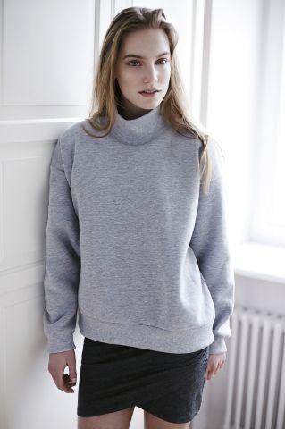 THE ODDER SIDE Turtleneck sweatshirt. Shop at www.theodderside.com