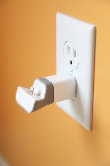 Amazon.com: Mini Wall Plug-In Charging Dock For iPhone 5 ...
