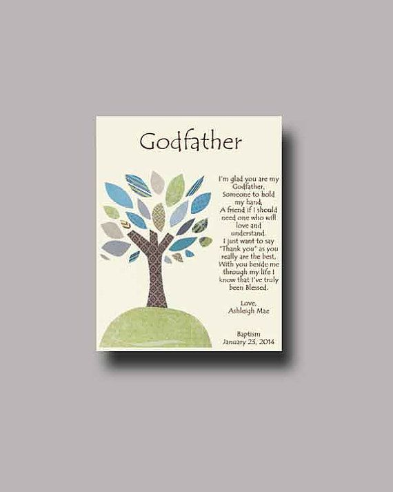Godfather gift - Personalized gift for Godfather ...