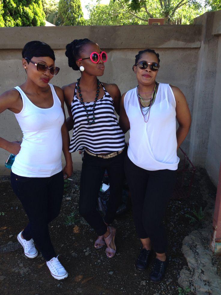 Black and white divas