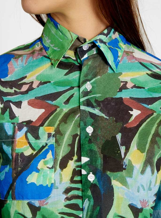 Couverture and The Garbstore - Womens - G.Kero - Sunshine Tropical Shirt | Raddest Men's Fashion Looks On The Internet: http://www.raddestlooks.org