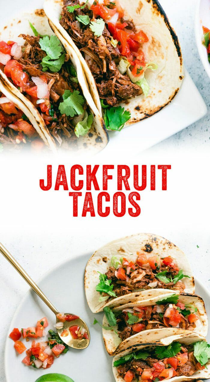Best Jackfruit Tacos Vegan Carnitas A Couple Cooks Recipe Jackfruit Tacos Jackfruit Jackfruit Tacos Vegan