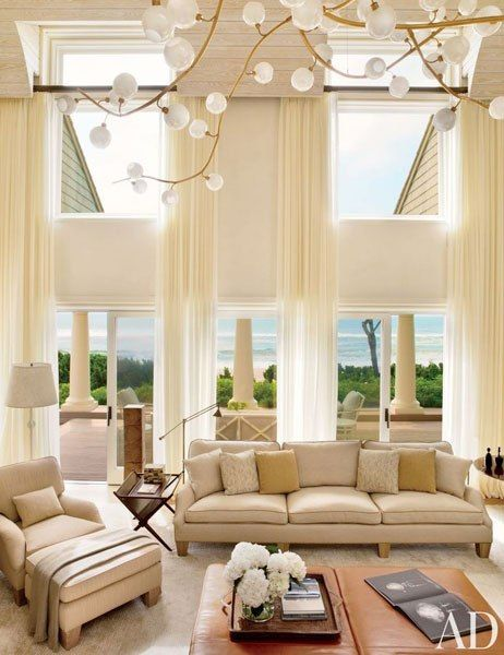17 best images about two story drapery ideas on pinterest High ceiling window treatments