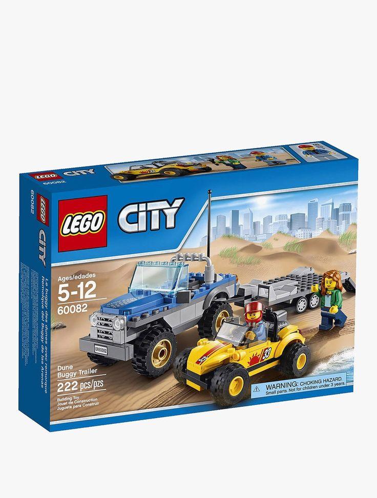 Lego: City Dune Buggy Trailer - 60082. #Kids #Toys