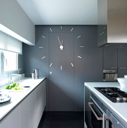 Clock from Nomon design company from Barcelona.  http://www.nomon.es/  http://love-spain.tumblr.com/