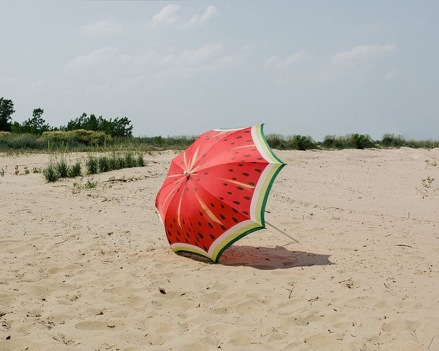watermelon umbrela