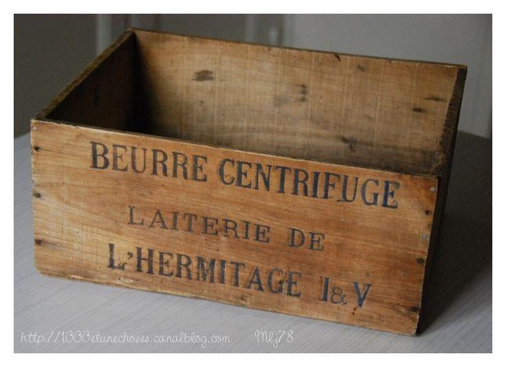 vieille caisse en bois relookees handmade deco ideas pinterest. Black Bedroom Furniture Sets. Home Design Ideas