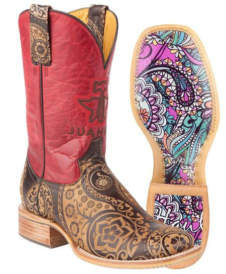 Tin Haul Women's Paisley Rocks Boot's