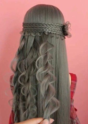 100 Amazing hairstyle compilation Beautiful hair stylish tutorials Part