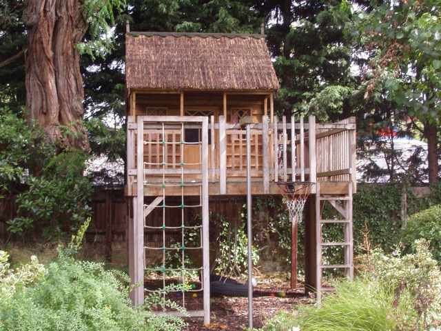 Tree House Plans No Tree Backyard Amp Night Games Tree