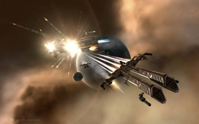 A collaboration with EVE Online and Reykjavik University, uses the game's players to inform the ways we find new, undiscovered exoplanets out in the universe. EVE players will be analyzing light patterns and other real-world data to see what's out there in the void of space.
