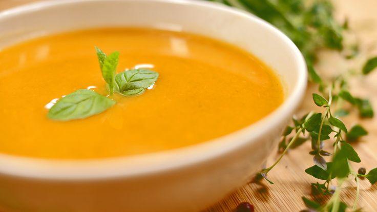 Zupa krem z dyni - pyszna i bardzo zdrowa!