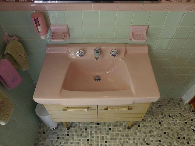 1965 American Standard Sink American Standard Sinks Vintage Bathrooms Retro Bathrooms