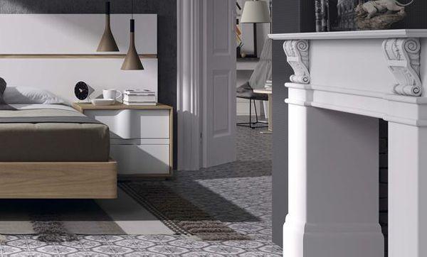 Decoraci n de dormitorios combinando estilo cl sico y for Muebles estilo clasico moderno