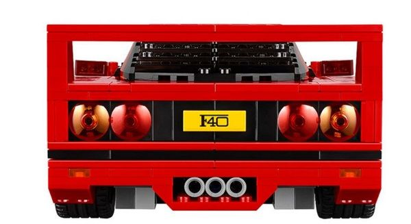 The LEGO Creator Ferrari F40 Is A Supercar You Can Afford To Buy