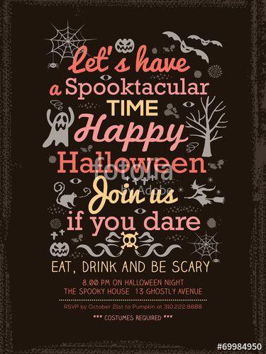 15 best Halloween images on Pinterest Background designs, Flyers - halloween invitation template