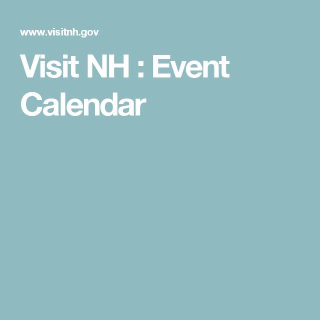 Visit NH : Event Calendar