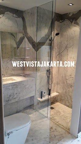 Bathroom Design Apartment West Vista Jakarta Barat #bathroomapartment #showunitapartment #bathroomdesign