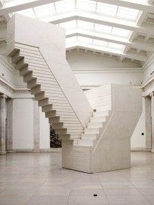 negative stairs   rachel whiteread