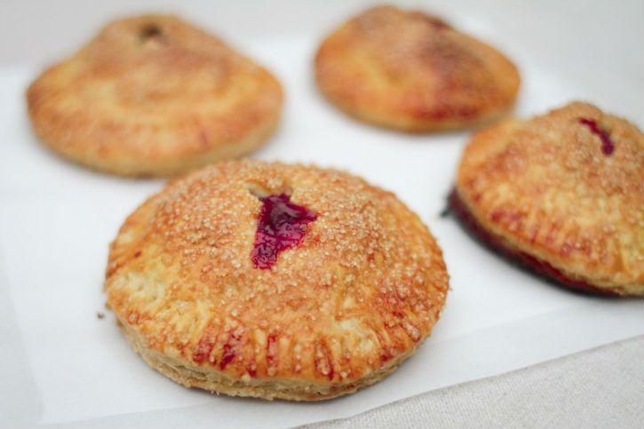Caramel Cranberry Hand Pies | Cranberry Month | Pinterest