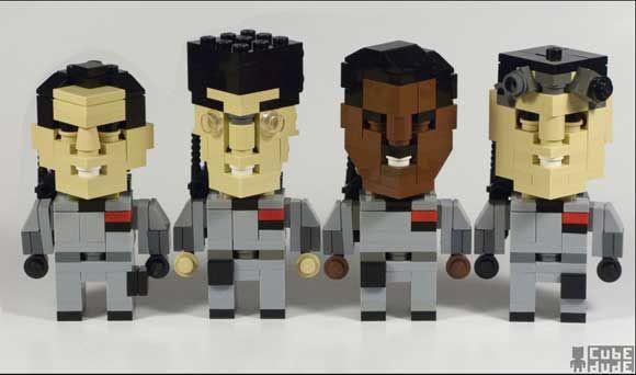 Angus Maclane - Ghostbusters. #LegoArt