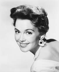 Barbara Rush - (1927-  ) Stage, film and TV soap opera performer.  Paramount Pictures contract player.