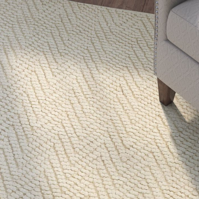 Honesdale Hand Woven Ivory Beige Area Rug Connor House