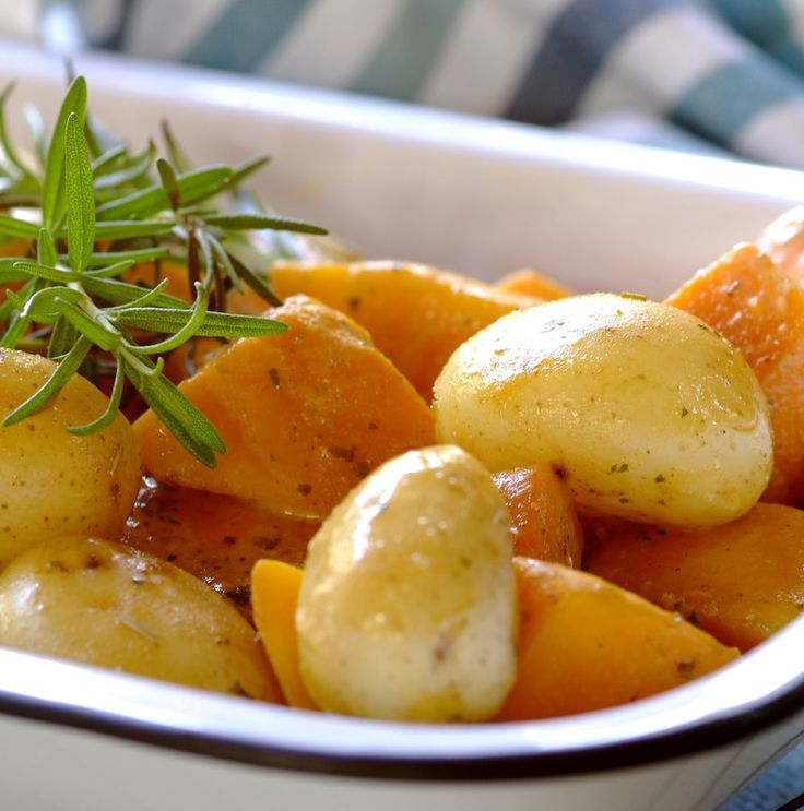 Quick Potato and Butternut Bake in a Bag #easy #dinner #recipes
