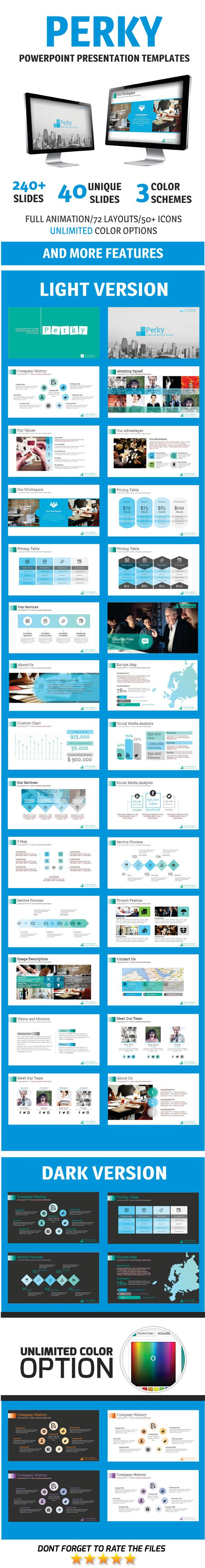 Perky PowerPoint Template