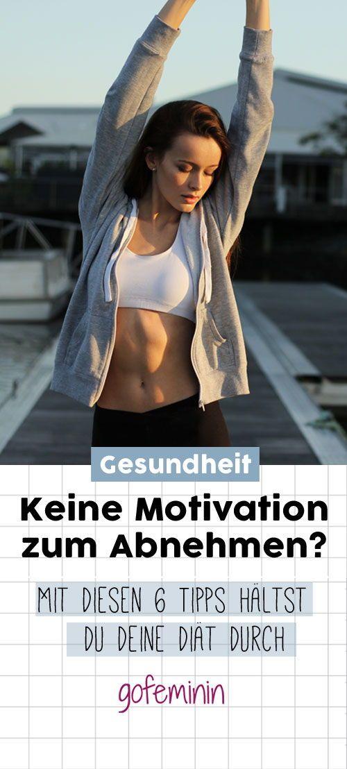 Möchtest du endlich ein paar überschüssige Kilos loswerden, hast aber keine Motivation zum Abnehmen? Hier kommen 6 tolle Tipps, mit denen du die Diät durchhältst! #abnehmmotivation #diaet #abnehmen #abnehmtipps #fitness