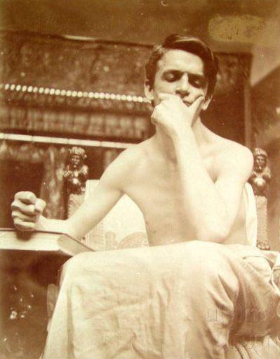 Study... by Alphonse Mucha, 1908. www.esbirky.cz, CC0