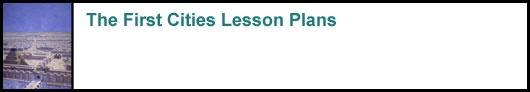 Lesson Plans for Mesopotamia