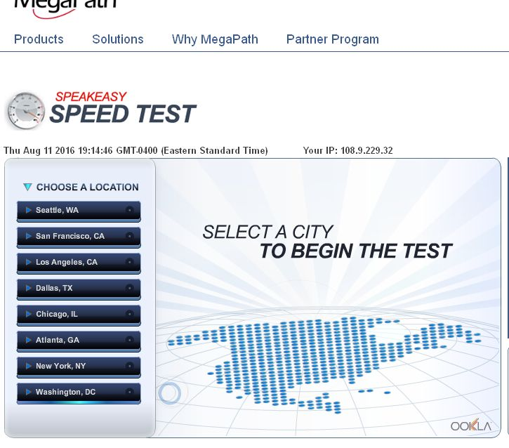 Speakeasy Speed Test - Free test of your download and upload speedws