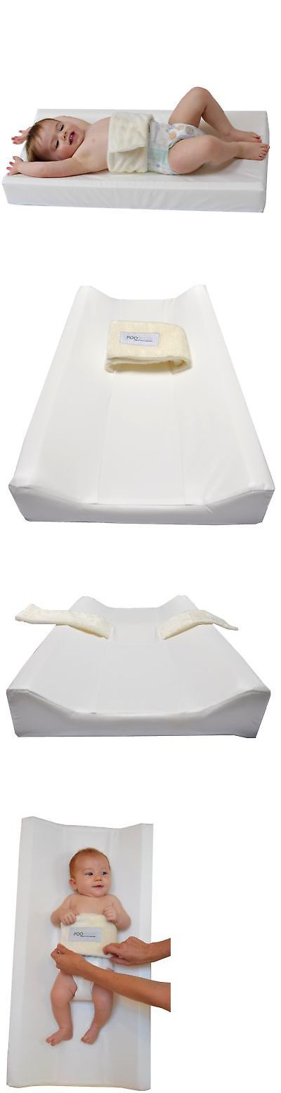 Changing Pads and Covers 66674: Poopoose Wiggle Free Diaper Changing Pad Changing Table Pad, White, 16 X 32 X -> BUY IT NOW ONLY: $57.5 on eBay!