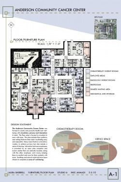 Oncology Center Floor Plans Anderson Community Cancer