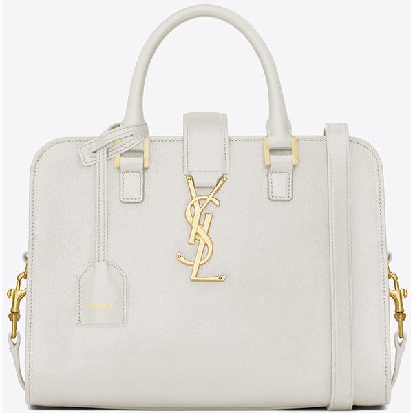 Baby Cabas Monogram Saint Laurent Bag ($1,790) ? liked on ...