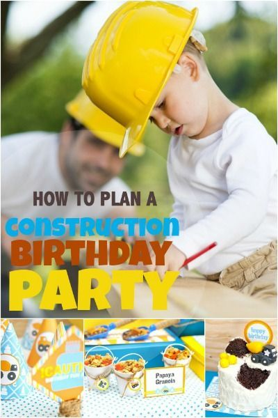 Some amazing and fun tips for creating a 5 Star Construction Themed Party