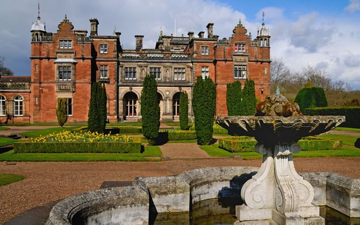 Located in a picturesque 620-acre rural campus in Staffordshire, Keele University benefits not just from the scenery but also from Keele Hall, a 19th-century stately home on the outskirts of Newcastle-under-Lyme which once housed the Sneyd family. It now serves as the university conference centre.  Picture: Alamy