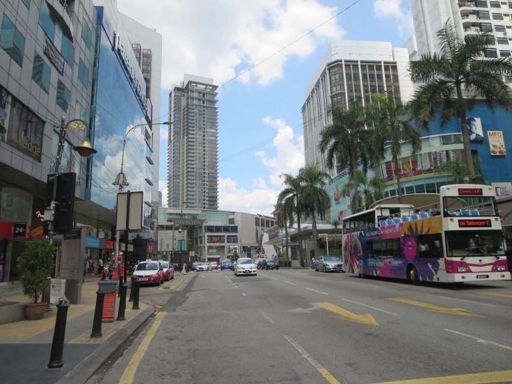 Menara KL- 360° Blick über die Stadt Golden Triangle, Kuala Lumpur, Malaysia
