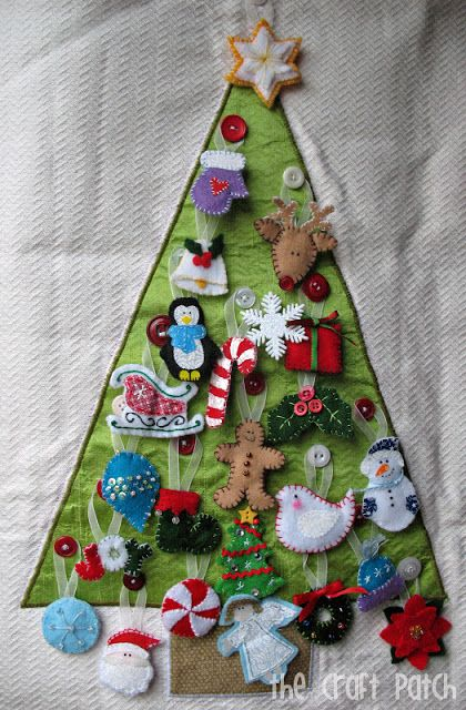 The Craft Patch - a decoration for each day Advent Calender