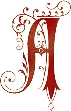 Initial A This is the first letter of the name of my lovely wife ...