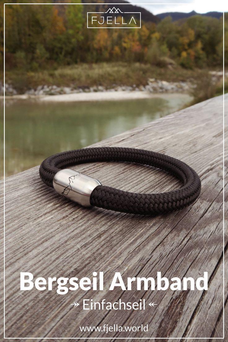 Bergseil Armband – die Geschenkidee zu Weihnachten oder zum Geburtstag für Bergfans