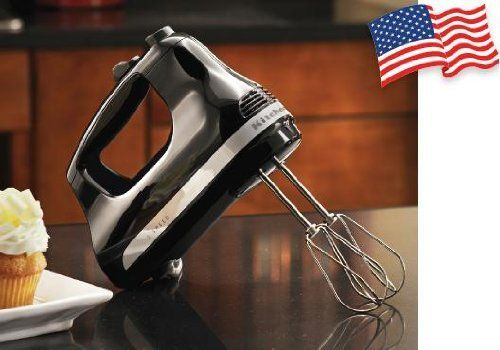 The Kitchen Aid Ultra Power Hand Mixer comes equiped with stainless steel turbo beaters and a powerful DC motor. This Kitchen Aid Hand Mixer is simple to use and features powerful 5 speeds of control. With an effortless operation you can easily get the job done quickly and get those cookies,... more details available at https://perfect-gifts.bestselleroutlets.com/gifts-for-holidays/appliances/product-review-for-kitchenaid-assembled-in-greenvile-ohio-usa-5-speed-mechanical-spe