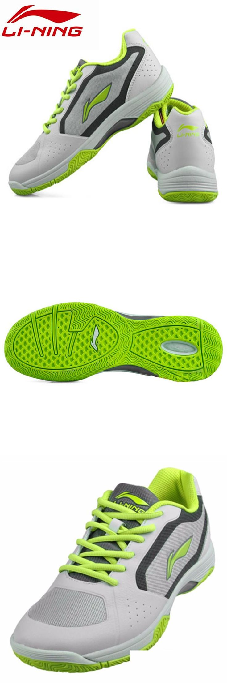 [Visit to Buy] LI-NING Original Men Table Tennis Shoes Indoor Training Breathable Hard-Wearing Sneakers Sport Shoes APPH005 #Advertisement