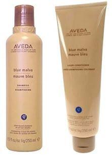Hair Color Corner: Keeping Grey Hair Color Grey Product is AVEDA Blue Malva. Also clean hair with shampoo mixed with Peroxide and then use a clear gloss product.